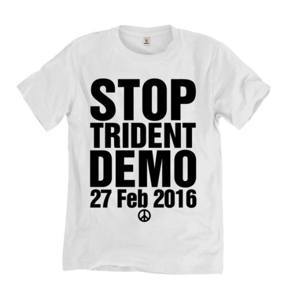 Stoptrident Commerative T Shirt Yorkshire Campaign For