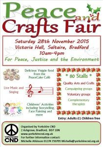 Saltaire Peace and Craft Fair