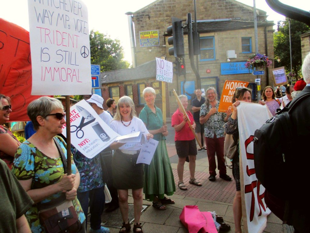 Hebden protest